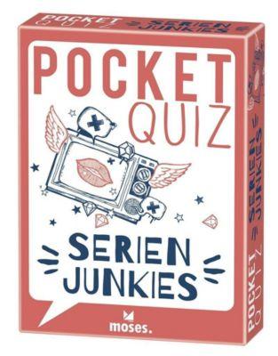 Pocket Quiz Serienjunkies (Spiel) - Bastienne Hamann |
