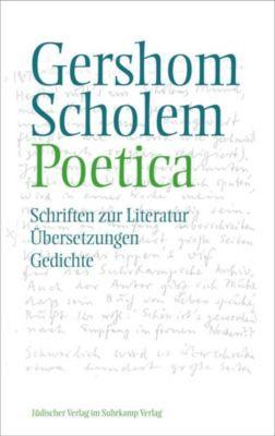Poetica, Gershom Scholem