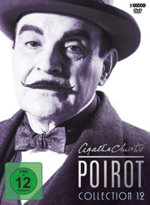 Poirot Collection 12, Agatha Christie