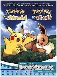 Pokémon Let S Go Pikachu Evoli Das Offizielle