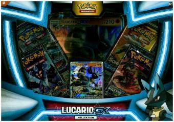 Pokemon, Lucario-GX Box (Sammelkartenspiel)