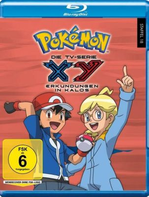 Pokémon - Staffel 18 - XY: Erkundungen in Kalos DVD-Box