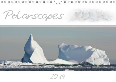Polarscapes / UK-Version (Wall Calendar 2019 DIN A4 Landscape), Brigitte Schlögl