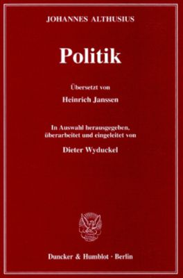 Politik, Johannes Althusius