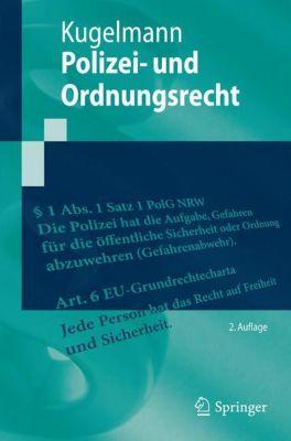 Polizei- und Ordnungsrecht, Dieter Kugelmann
