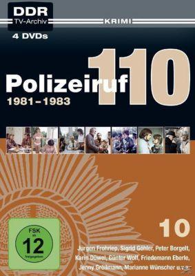 Polizeiruf 110 – Box 10: 1981-1983 DVD-Box, Ddr TV-Archiv
