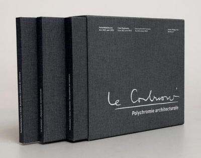 Polychromie architecturale, 3 Bde., Le Corbusier