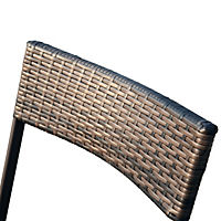 Polyrattan Gartengarnitur als 7-tlg. Set - Produktdetailbild 8