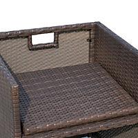 Polyrattan Gartenmöbel als 21-tlg. Set - Produktdetailbild 8