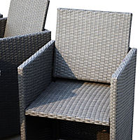 Polyrattan Sitzgruppe als 33-tlg. Set - Produktdetailbild 7