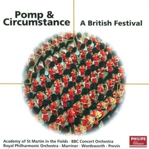 Pomp And Circumstance - A British Festival, Previn, Wordsworth, Marriner, Lpo