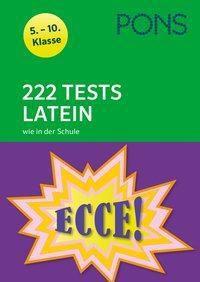 PONS 222 Tests Latein wie in der Schule