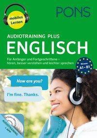 PONS Audiotraining Plus Englisch, 4 Audio-MP3-CDs