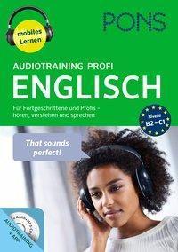 PONS Audiotraining Profi Englisch, 2 Audio-MP3-CDs