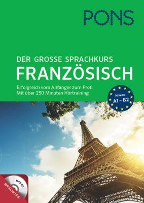 PONS Der grosse Sprachkurs Französisch, m. MP3-CD