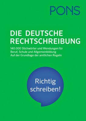 PONS Die deutsche Rechtschreibung -  pdf epub
