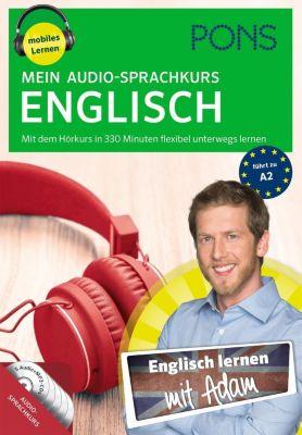 PONS Mein Audio-Sprachkurs Englisch, 5 MP3-CDs