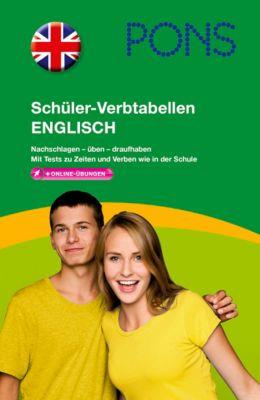 PONS Schüler-Verbtabellen Englisch, Stephan Buckenmaier, Samantha Scott