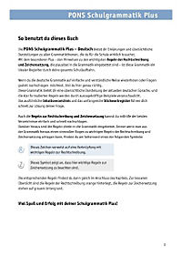 PONS Schulgrammatik Plus Deutsch - Produktdetailbild 1