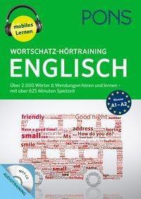 PONS Wortschatz-Hörtraining Englisch, 1 MP3-CD