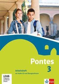 Pontes, Latein für Gymnasien: Bd.3 Arbeitsheft mit Audio-CD und Übungssoftware