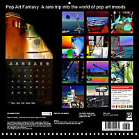 Pop Art Fantasy A rare trip into the world of pop art moods (Wall Calendar 2019 300 × 300 mm Square) - Produktdetailbild 13