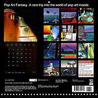 Pop Art Fantasy A rare trip into the world of pop art moods (Wall Calendar 2018 300 × 300 mm Square) - Produktdetailbild 13