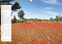Poppy Fields of Provence (Wall Calendar 2019 DIN A3 Landscape) - Produktdetailbild 11