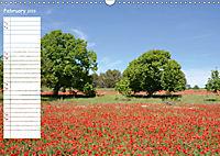 Poppy Fields of Provence (Wall Calendar 2019 DIN A3 Landscape) - Produktdetailbild 2