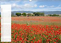 Poppy Fields of Provence (Wall Calendar 2019 DIN A3 Landscape) - Produktdetailbild 5