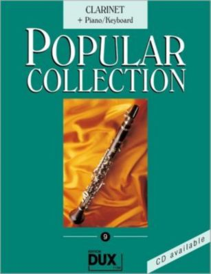 Popular Collection, Clarinet + Piano/Keyboard, Arturo Himmer