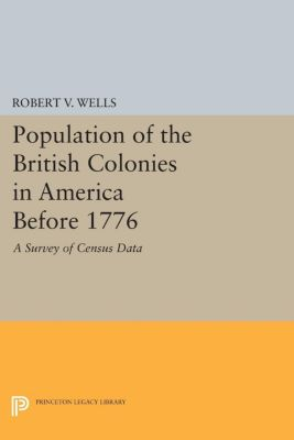 Population of the British Colonies in America Before 1776, Robert V. Wells