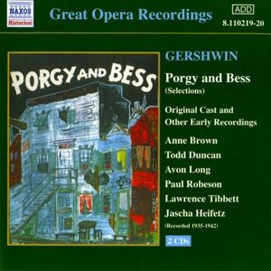 Porgy And Bess, Smallens, Brown, Duncan, Long