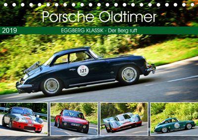 Porsche Oldtimer - EGGBERG KLASSIK - Der Berg ruft (Tischkalender 2019 DIN A5 quer), Ingo Laue