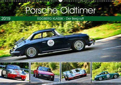 Porsche Oldtimer - EGGBERG KLASSIK - Der Berg ruft (Wandkalender 2019 DIN A2 quer), Ingo Laue