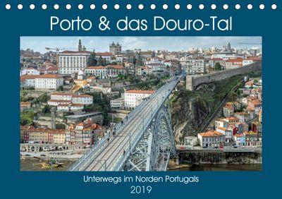 Porto & das Douro-Tal (Tischkalender 2019 DIN A5 quer), Frank Brehm (frankolor.de)
