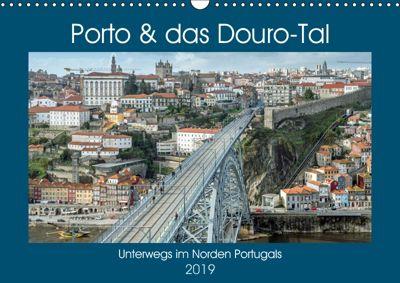 Porto & das Douro-Tal (Wandkalender 2019 DIN A3 quer), Frank Brehm (frankolor.de)