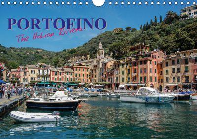 Portofino the Italian Riviera (Wall Calendar 2019 DIN A4 Landscape), Sharon Poole