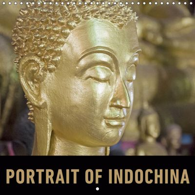Portrait of Indochina (Wall Calendar 2019 300 × 300 mm Square), Martin Ristl
