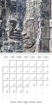 Portrait of Indochina (Wall Calendar 2019 300 × 300 mm Square) - Produktdetailbild 1