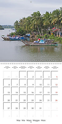 Portrait of Indochina (Wall Calendar 2019 300 × 300 mm Square) - Produktdetailbild 5