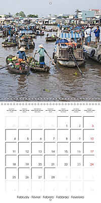 Portrait of Indochina (Wall Calendar 2019 300 × 300 mm Square) - Produktdetailbild 2