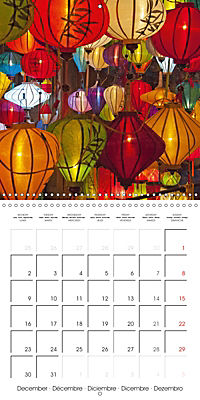 Portrait of Indochina (Wall Calendar 2019 300 × 300 mm Square) - Produktdetailbild 12