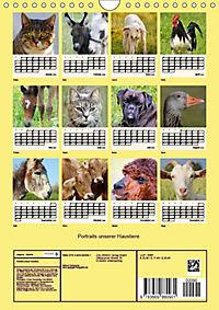 Portraits unserer Haustiere (Wandkalender 2019 DIN A4 hoch) - Produktdetailbild 1