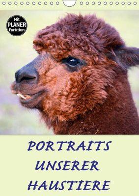 Portraits unserer Haustiere (Wandkalender 2019 DIN A4 hoch), GUGIGEI