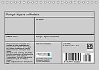 Portugal - Algarve und Madeira (Tischkalender 2019 DIN A5 quer) - Produktdetailbild 12