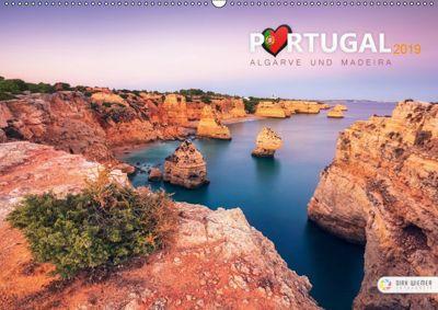 Portugal - Algarve und Madeira (Wandkalender 2019 DIN A2 quer), Dirk Wiemer