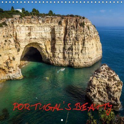 PORTUGAL'S BEAUTY (Wall Calendar 2019 300 × 300 mm Square), Marcel Vintan