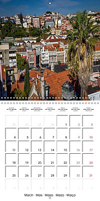 PORTUGAL'S BEAUTY (Wall Calendar 2019 300 × 300 mm Square) - Produktdetailbild 3