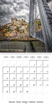 PORTUGAL'S BEAUTY (Wall Calendar 2019 300 × 300 mm Square) - Produktdetailbild 2